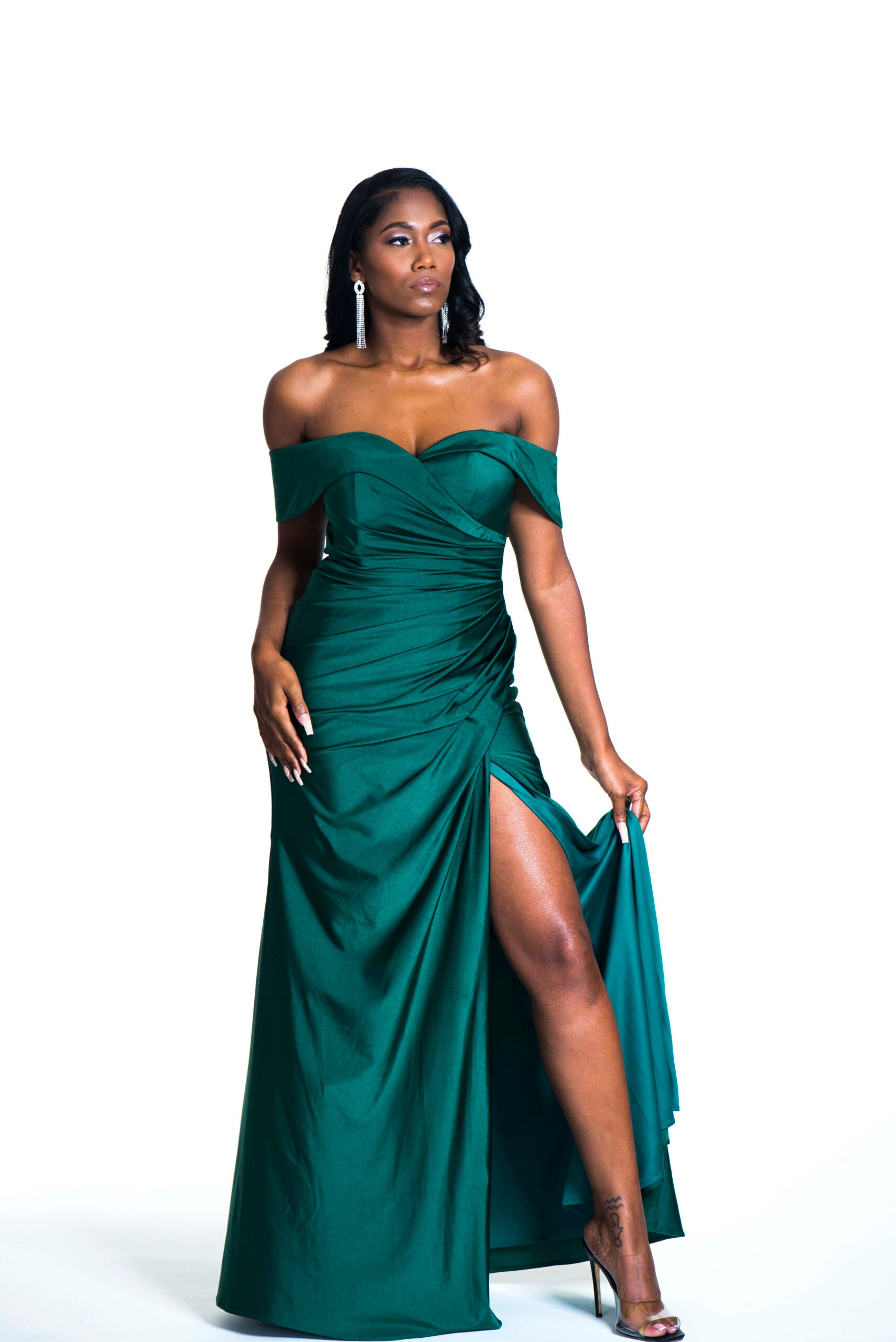 The PROMISE Dress - Emerald Green