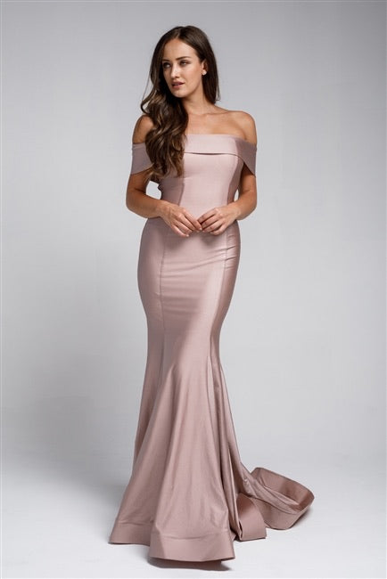 The JESSICA Dress - Rose Pink - DOYIN LONDON