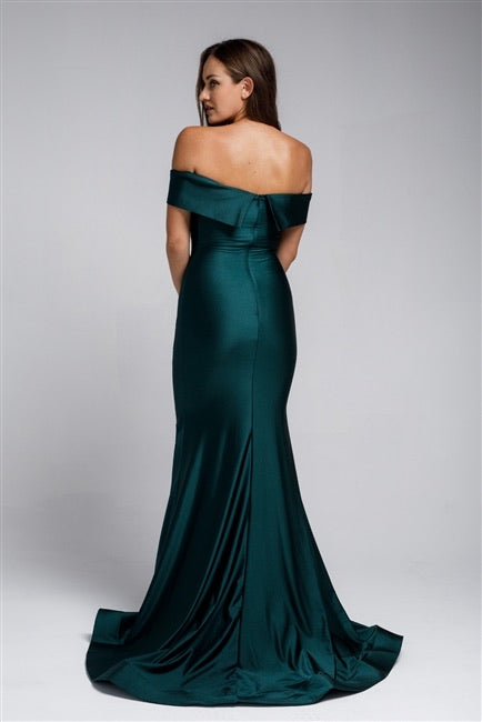 The JESSICA Dress - Emerald Green - DOYIN LONDON