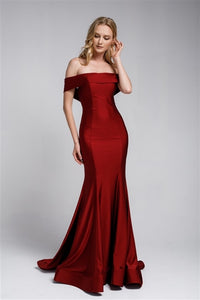 The JESSICA Dress - Burgundy - DOYIN LONDON