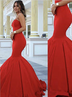 Mermaid Prom Dress, Pageant Dress, Evening Dress, Dance Dresses, Graduation School Party Gown, DT0618