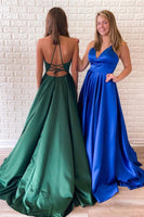 Prom Dress Long, Pageant Dress, Evening Dress, Dance Dresses, Graduation School Party Gown, DT0576