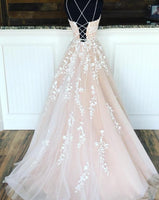 New Style Champagne Prom Dress with Straps, Prom Dresses, Pageant Dress, Evening Dress, Ball Dance Dresses, Graduation School Party Gown, DT0653