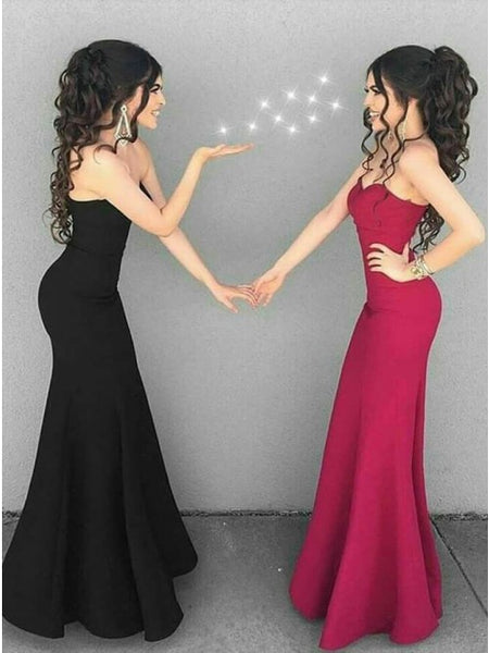 Simple Prom Dress, Prom Dresses, Evening Gown, Graduation School Party Dress, Winter Formal Dress, DT0067