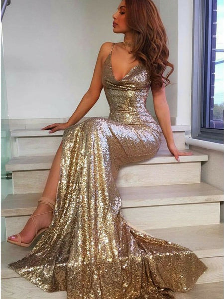 Sexy Mermaid Prom Dresses, Dress For Junior and Senior Prom, Formal Dress, Evening Dress, Dance Dresses, Graduation Party Dress, DT0734