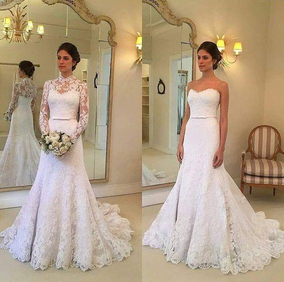 Wholesale New Style Lace Wedding Dress, Bridal Gown ,Dresses For Brides, PM0054