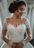 New Style Wedding Dress Long Sleeves, Dresses For Wedding, Bridal Gown ,Bride Dress, Dresses For Brides, PM0109