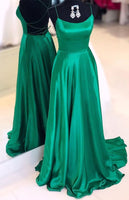 Sexy Backless Prom Dress Long, Ball Gown, Dresses For Party, Evening Dress, Formal Dress, DT0456