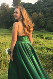 Green Prom Dress 2019, Prom Dresses, Evening Gown, Graduation School Party Dress, Winter Formal Dress, DT0151