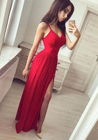 Sexy Prom Dress, Prom Dresses, Evening Gown, Graduation School Party Dress, Winter Formal Dress, DT0088
