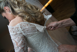 Lace Wedding Dress Long Sleeves, Bridal Gown ,Dresses For Brides, PM0072