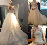 Princess Style Wedding Dress, Bridal Gown ,Dresses For Brides, PM0022
