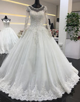 Princess Style Wedding Dress, Bridal Gown ,Dresses For Brides, PM0041