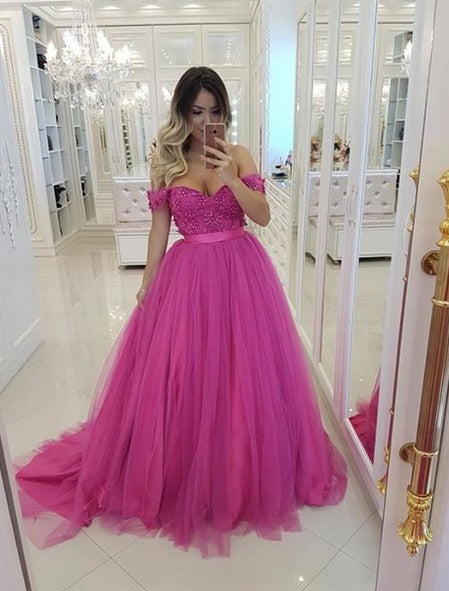 Prom Dresses Long, Graduation School Party Gown, Winter Formal Dress, DT0009
