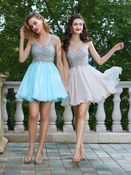 New Style Homecoming Dress, Short Prom Dress ,Back To School Party Dress, Evening Dress, Formal Dress, DTH0041