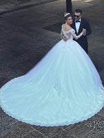 Princess Style Wedding Dress, Bridal Gown ,Dresses For Brides, PM0042
