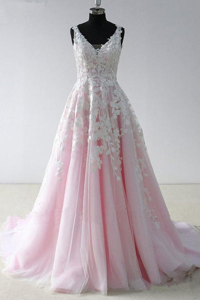 Baby Pink Prom Dress, Evening Dress, Formal Dresses, Graduation School Party Dance Dress, DT0392
