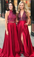 Prom Dress 2019, Graduation School Party Gown, Winter Formal Dress, DT0017