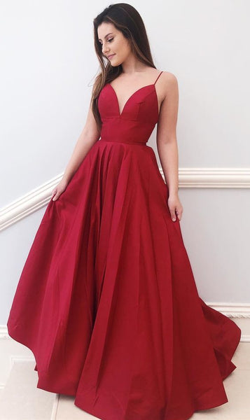 A Line Prom Dress Long, Evening Dress, Dance Dresses, Graduation School Party Gown, DT0323