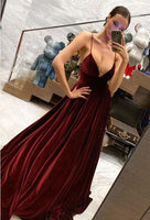 Sexy Prom Dress Deep V Neckline, Prom Dresses, Pageant Dress, Evening Dress, Ball Dance Dresses, Graduation School Party Gown, DT0648