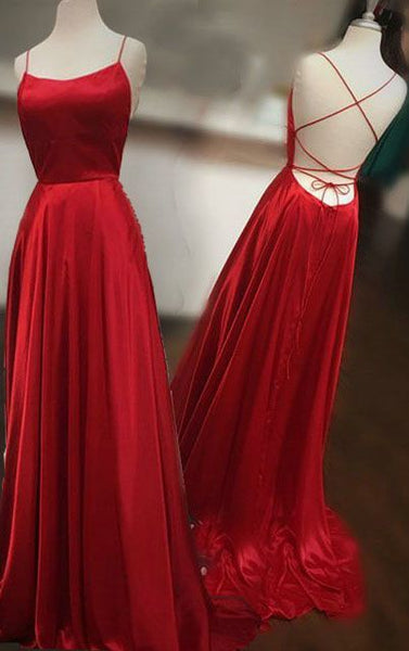 Backless Prom Dress Long, Ball Gown, Dresses For Party, Evening Dress, Formal Dress, DT0429