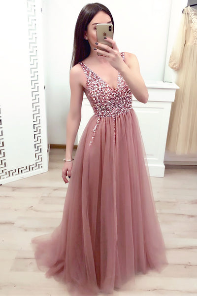 New Fashion Prom Dress, Evening Dress, Formal Dresses, Graduation School Party Dance Dress, DT0372