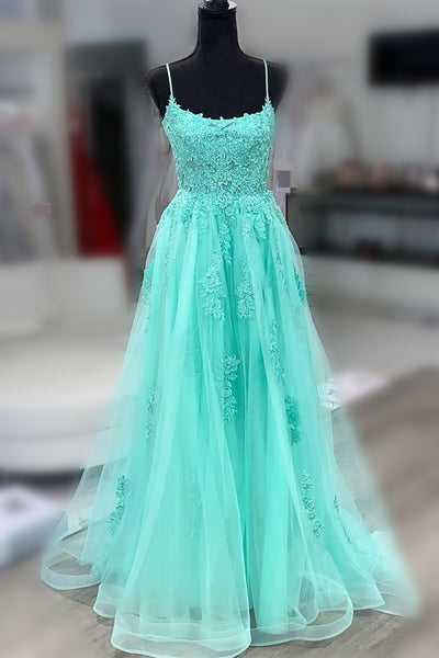 Green Prom Dress, Prom Dresses, Pageant Dress, Evening Dress, Ball Dance Dresses, Graduation School Party Gown, DT0634