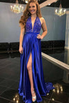 Sexy Royal Blue Prom Dress, Prom Dresses,Evening Gown, Graduation School Party Dress, Winter Formal Dress, DT0027