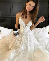 Sexy Lace Wedding Dress, Bridal Gown ,Dresses For Brides, PM0047