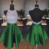 Green Homecoming Dress 2019, Short Prom Dress ,Dresses For Graduation Party, Evening Dress, Formal Dress, DTH016