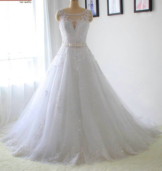 Lace Wedding Dress New Style, Dresses For Wedding, Bridal Gown ,Bride Dress, Dresses For Brides, PM0081