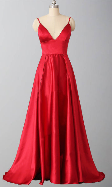 Red Prom Dress 2020, Prom Dresses, Pageant Dress, Evening Dress, Ball Dance Dresses, Graduation School Party Gown, DT0646