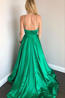 Green Prom Dresses, Dress For Junior and Senior Prom, Formal Dress, Evening Dress, Dance Dresses, Graduation Party Dress, DT0740