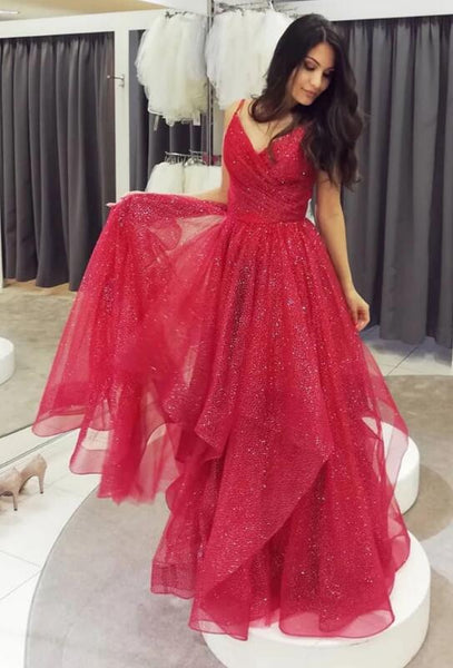 Sparkling Prom Dress Long , Special Occasion Dress, Evening Dress, Dance Dresses, Graduation School Party Gown, DT0709