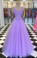 Lavender Prom Dress 2021, Formal Dress, Evening Dress, Dance Dresses, Graduation Party Dress, DT0766
