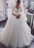 Princess Style Wedding Dress, Bridal Gown ,Dresses For Brides, PM0039