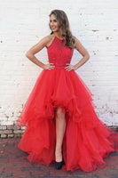 Prom Dress High Low, Dresses For Graduation Party, Evening Dress, Formal Dress, DT0468