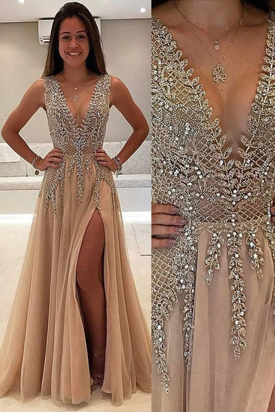 Sexy Shinning Prom Dress, Evening Gown, Graduation School Party Dress, Winter Formal Dress, DT0025