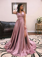 2021 Prom Dress Slit Skirt, Formal Dress, Evening Dress, Dance Dresses, Graduation Party Dress, DT0787