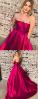 Long Prom Dress with Pockets, Prom Dresses For Teens, Dresses For Party, Formal Dress, DT0423