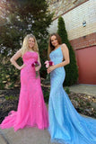 Mermaid Lace Prom Dress, Homecoming Dress, Formal Dress, Evening Dress, Dance Dresses, Graduation Party Dress, DT0749