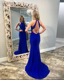 Royal Blue Prom Dress 2019, Evening Dress, Dance Dresses, Graduation School Party Gown, DT0299