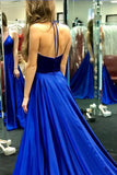 Royal Blue Prom Dress Long, Ball Gown, Dresses For Party, Evening Dress, Formal Dress, DT0436