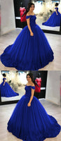Princess Prom Dress, Sweet 16 Dress, Evening Gown,Graduation School Party Gown, Winter Formal Dress, DT0039