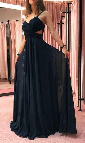 Simple Black Prom Dress, Pageant Dress, Evening Dress, Dance Dresses, Graduation School Party Gown, DT0609