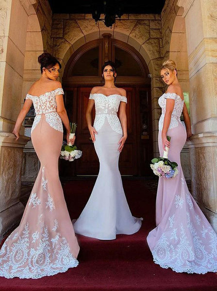 Mermaid Prom Dress, Bridesmaid Dresses, Ball Gown, Dresses For Party, Evening Dress, Formal Dress, DT0445
