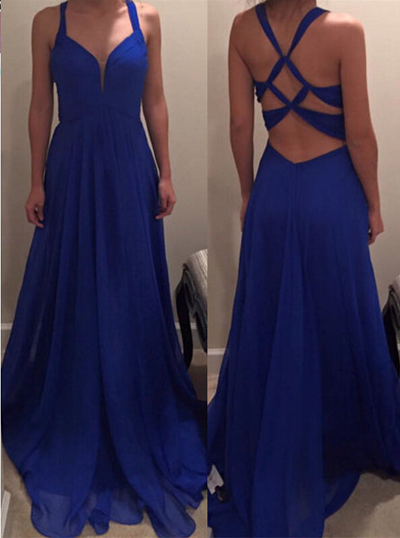 Sexy Royal Blue Prom Dress, Prom Dresses, Evening Gown, Graduation School Party Dress, Winter Formal Dress, DT0121
