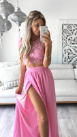 Two Pieces Prom Dress For Teens, Prom Dresses, Evening Gown, Graduation School Party Gown, Winter Formal Dress, DT0192