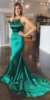 Mermaid Green Prom Dress, Ball Gown, Dresses For Party, Evening Dress, Formal Dress, DT0430