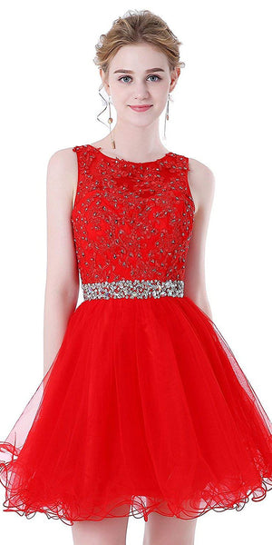 Red Homecoming Dresses, Short Prom Dress ,Back To School Party Dress, Evening Dress, Formal Dress, DTH0038